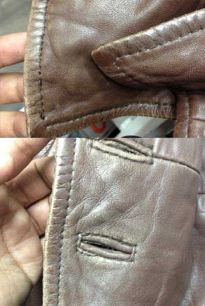 Reparation veste cuir bruxelles